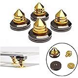 Tutoy 4 Sets M6 Lautsprecher Spike Isolierung Stand Cone Basis Pads Stick-On Audio Verstärker