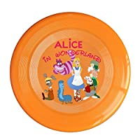 WG Brand Orange, One Size : WG Unisex A In Wonderland Fantasy Film Character Outdoor Game Frisbee Ultra Star Yellow