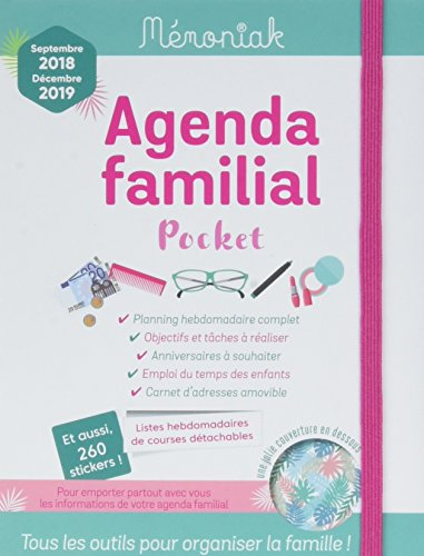 Agenda familial Mémoniak pocket 2018-2019 par Collectif