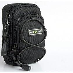 Bundlestar Blackstar V3 - Funda para cámara de fotos, color negro para - Sony CyberShot HX50 HX60 HX90 RX100 I II III - Panasonic Lumix DMC TZ70 TZ60 - Canon PowerShot SX620