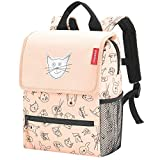 Reisenthel Backpack Kids Kinder-Rucksack IE3064, 28 cm, 5 L, Cats and Dogs Rose