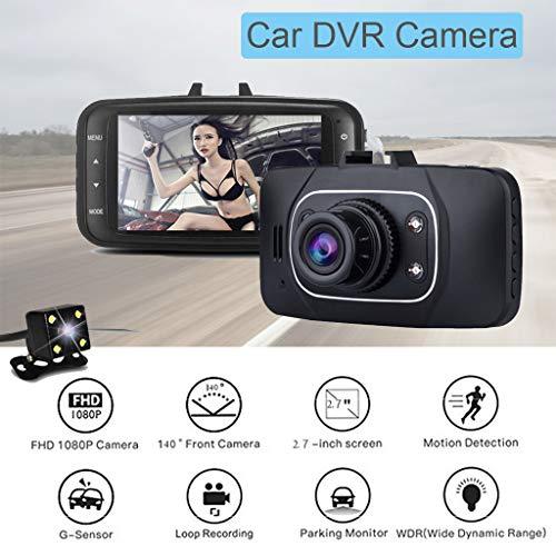 Leva llena del Video de la cámara del vehículo de DVR del coche de HD 1080P Con la pantalla DE 2.7 pulgadas (De Video Hd Camaras)