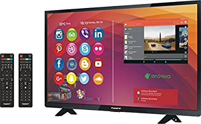 40 Inches (101 cm) Pushbrite Full HD wifi Smart LED TV (2 Remotes) Get Screen Protector Worth Rs.5500 free