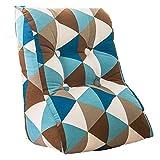 Dreieck Sofa Kissen, Bedside Büro Rückenlehne Tournure Schlafzimmer Big Pillow Taille Kissen Stuhl Kissen, Baumwolle waschbar 45-55cm ( Farbe : #2 , größe : 55*60*30CM )