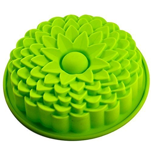 Sunflower Bread Pie flan Tart Birthday party cake silicone Mold pan Bakeware - Flan Cake Pan