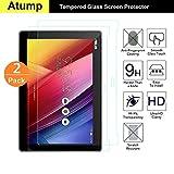 ASUS ZenPad 10 Z300M Protection écran,2-pack 0.3mm Film Protection en Verre trempé écran Protecteur pour ASUS ZenPad 10 Z300M vitre Haute Définition Dureté 9H [Compatible 3D Touch]