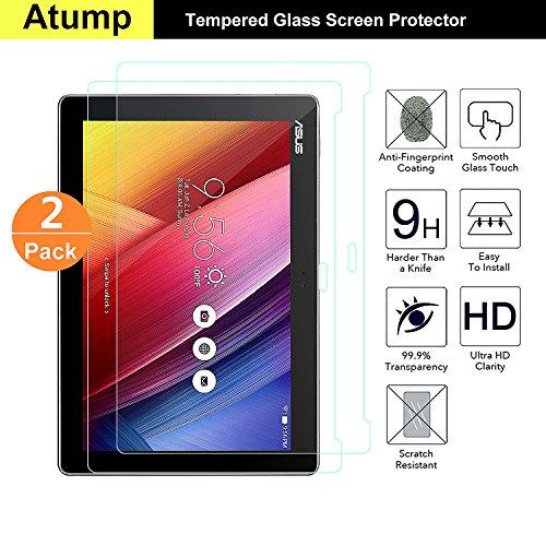 pellicola tablet asus zenpad 10 Atump [2-Pezzi Pellicola Vetro Temperato ASUS ZenPad 10 Z300M - HD 9H Durezza