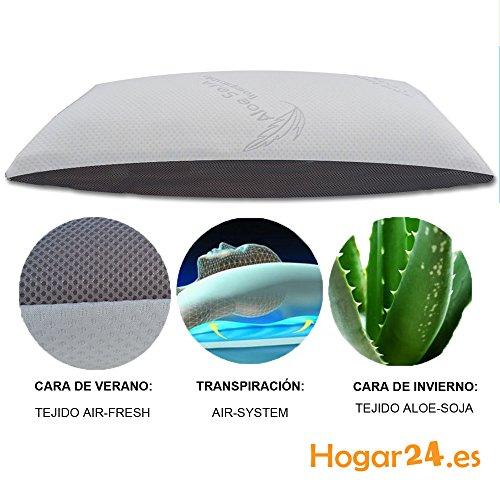Hogar24.es-Almohada viscoelastica viscolastica COPOS 3D con tecnología AIR-SYSTEM. -90CM