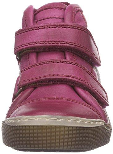 Bisgaard velcro Unisex-Kinder Kurzschaft Stiefel Pink (14 Pink)