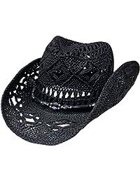 Amazon.co.uk  Black - Cowboy Hats   Hats   Caps  Clothing 27e7efec77d3