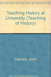 Teaching History at University (Teaching of History)