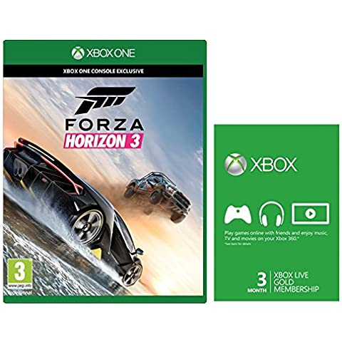 Forza Horizon 3 Xbox Live Gold Edition (Exclusive To Amazon.Co.Uk) [Importación Inglesa]