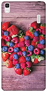 The Racoon Grip Berry Berry Special hard plastic printed back case / cover for Lenovo A7000