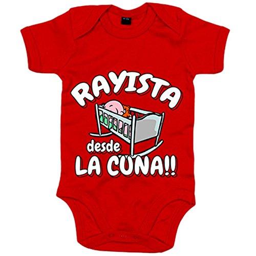 Body bebé Rayista desde cuna Rayo Vallecano fútbol
