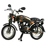 Recycling Fairtrade Miniatur Nostalgie Modell Motorrad Recycling Handarbeit - Fair Trade