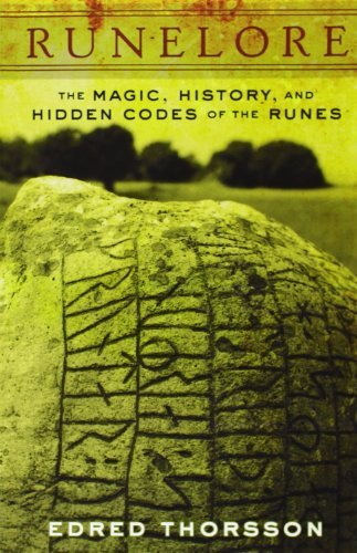 Runelore: The Magic, History, and Hidden Codes of the Runes by Edred Thorsson (1987-05-01)