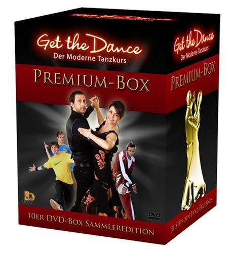 Get the Dance - 10er-Box *Die beliebtesten Tänze erstmals in einer Box!* -Lauflänge über 31 Stunden!- [10 DVDs] Die 10 beliebtesten