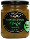 Original Tessiner Feigen-Senfsauce, 3er Pack (3 x 200 ml)