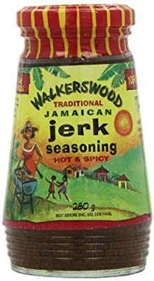 Walkerswood Traditional Jamaican Jerk Seasoning - Hot & Spicy 280 g by Walkerswood