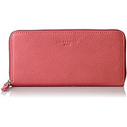 Liebeskind Berlin Damen Sallyf8 Core Geldbörse, Pink (Coral Pink), 2x19x10 cm
