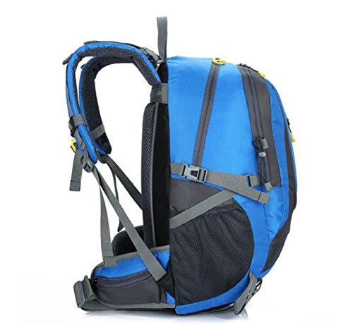 Rucksack Rucksack Wandern Outdoor Bergsteigen Reisen Casual Daypack Hochleistungs-Taschen,Black Blue
