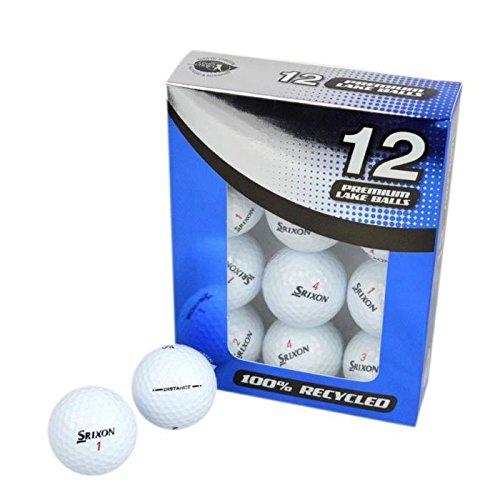 SECOND CHANCE Lot de 12 Balles de Golf Srixon Mix - Blanc