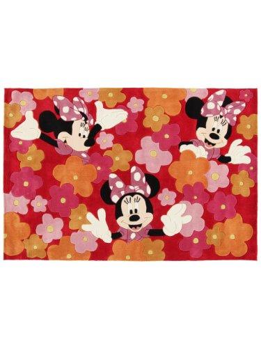 Disney Tapis Enfants / pour chambre d'enfants Minnie pas cher Multicouleur 150x220 cm / Label de qualité: Label de qualité TÜV / Composition exacte: 100% Acrylique / Hauteur: de 11 à 20 mm / Motifs: / Fabrication:Tufté à la main / Pièces: Chambre d'enfants