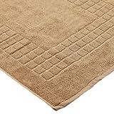 Linens Limited Supreme 100% Egyptian Cotton 500gsm Bath Mat, Latte
