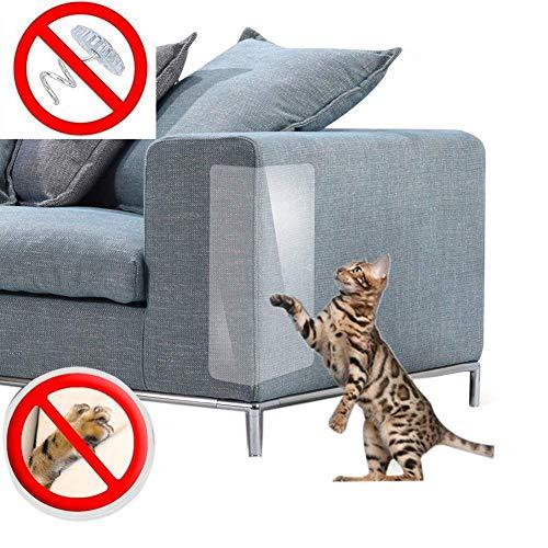 TOOGOO Protector de Muebles para Protección contra Ara?azos de Gatos, Ara?azos, Repelente, Protector de Sofá para Juego de Mesa de Sofá Fundas Almohadillas