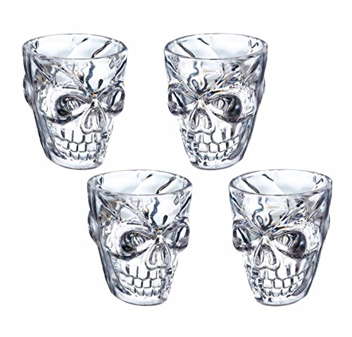 Kitchencraft Spookily Does It – novedad plástico calavera vasos d