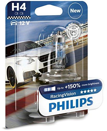 Preisvergleich Produktbild Philips RacingVision +150% H4 Scheinwerferlampe 12342RVB1, Einzelblister
