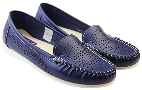 Coolers Premier Donna Espadrillas Blu marino