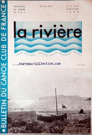 RIVIERE (LA) [No 247] du 01/01/1933