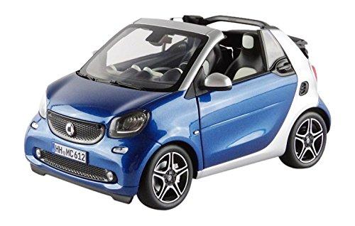 norev-183438-smart-fortwo-cabrio-2015-echelle-1-18-bleu-argent