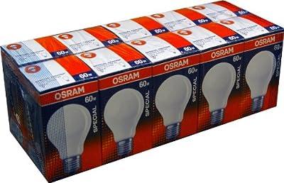 10 x Osram Glühbirne Glühlampe 60W MATT Special Centra A T FR 60 Watt E27 stoßfest von Osram auf Lampenhans.de