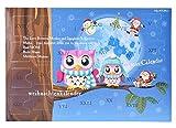 MJARTORIA Schmuck Adventskalender Weihnachtskalender Adventszeit Überraschungen Ohrringe Armbänder Click Button Charms Anhänger Brosche