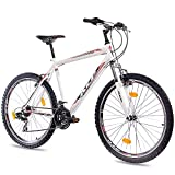 26 Zoll MOUNTAINBIKE FAHRRAD KCP MTB ONE UNISEX mit 21 Gang weiss