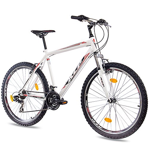"26"" Zoll MOUNTAINBIKE FAHRRAD KCP MTB ONE UNISEX mit 21 Gang weiss"