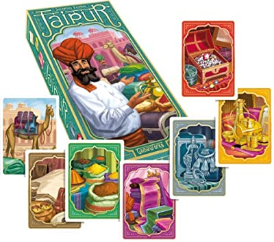 Game Works 200732 Jaipur - Juego de cartas (instrucciones en inglés) por Asmodee