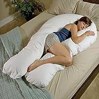 Cuscino a U di grandi dimensioni, 3,65 m, per supporto lombare e per l'interno corpo durante la maternità, ideale anche per disabilità e fibromialgia