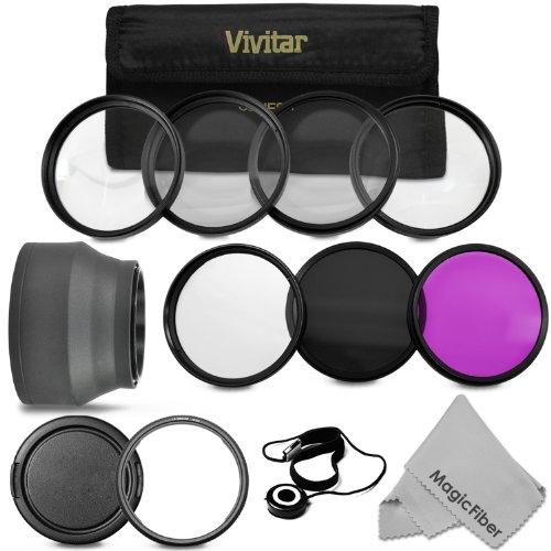 Goja 58mm Vivitar Filter Kit for Canon PowerShot SX50 HS