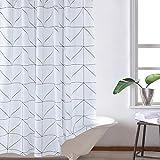 LFF- Starker Nicht perforierter Polyester-Duschvorhang-Badezimmer-Wasserdichter Mehltau-Vorhang-Umweltschutz-geruchloser Trennwand-Vorhang (Größe : 150 x 200 cm)