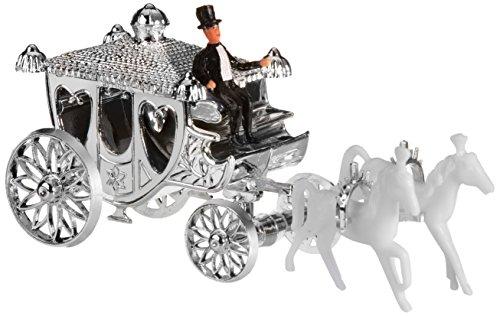 Preisvergleich Produktbild Günthart 5 x Silber Kutschen aus Kunststoff, 1er Pack (1 x 140 g)