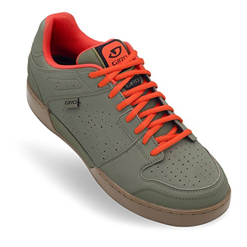 Giro Jacket - Chaussures Homme - marron/olive 2017 chaussures vtt shimano Army/Glowing Red/Gum