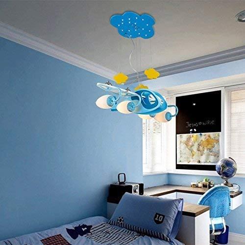 CZZ Gbyzhmh Kinder Kinderzimmer Kronleuchter Deckenleuchte Schlafzimmer Lampen LED Cartoon die...