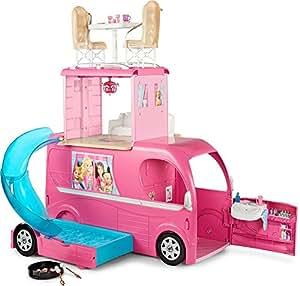 Mattel Barbie CJT42 – Das große Hundeabenteuer – Super Ferien Camper