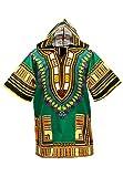 L'un des plus cool vêtements à porter pendant les jours chauds d'été. Un « Dashiki » est une chemise traditionnelle en Afrique. Fait d'un mélange de coton. Le matériel est relativement mince et léger. Mieux s'il soit lavé à la main. la mesu...