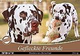 Gefleckte Freunde - Hunderasse Dalmatiner (Wandkalender 2019 DIN A3 quer): Dalmatiner gehören zu den auffälligsten Hunderassen, ihre Flecken machen ... (Monatskalender, 14 Seiten ) (CALVENDO Tiere)