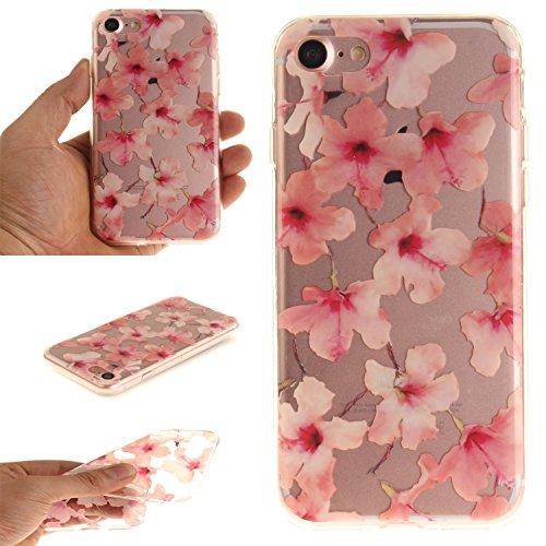 MOONCASE iPhone 7 Coque,Etui de Protection Coque Slim Antidérapant Case en TPU Gel Avec Absorption de Chocs pour iPhone 7 TX20 TX12