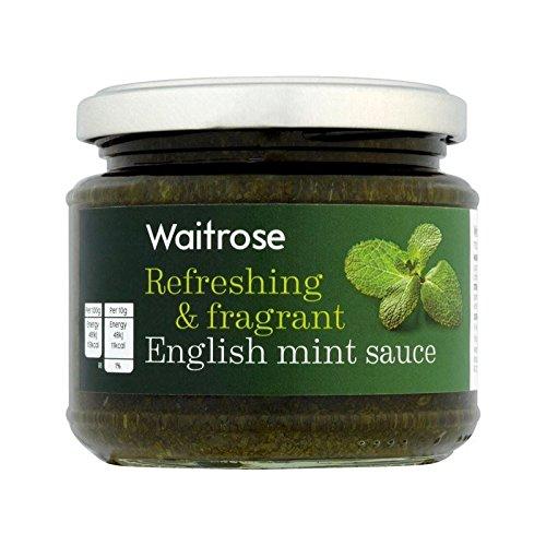 Menthe Rafraîchissante Et Parfumée Sauce Waitrose 195G - Paquet de 4